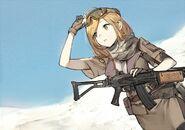 Infantry, Desert