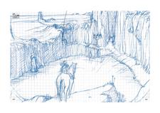 Leo's cave sketch