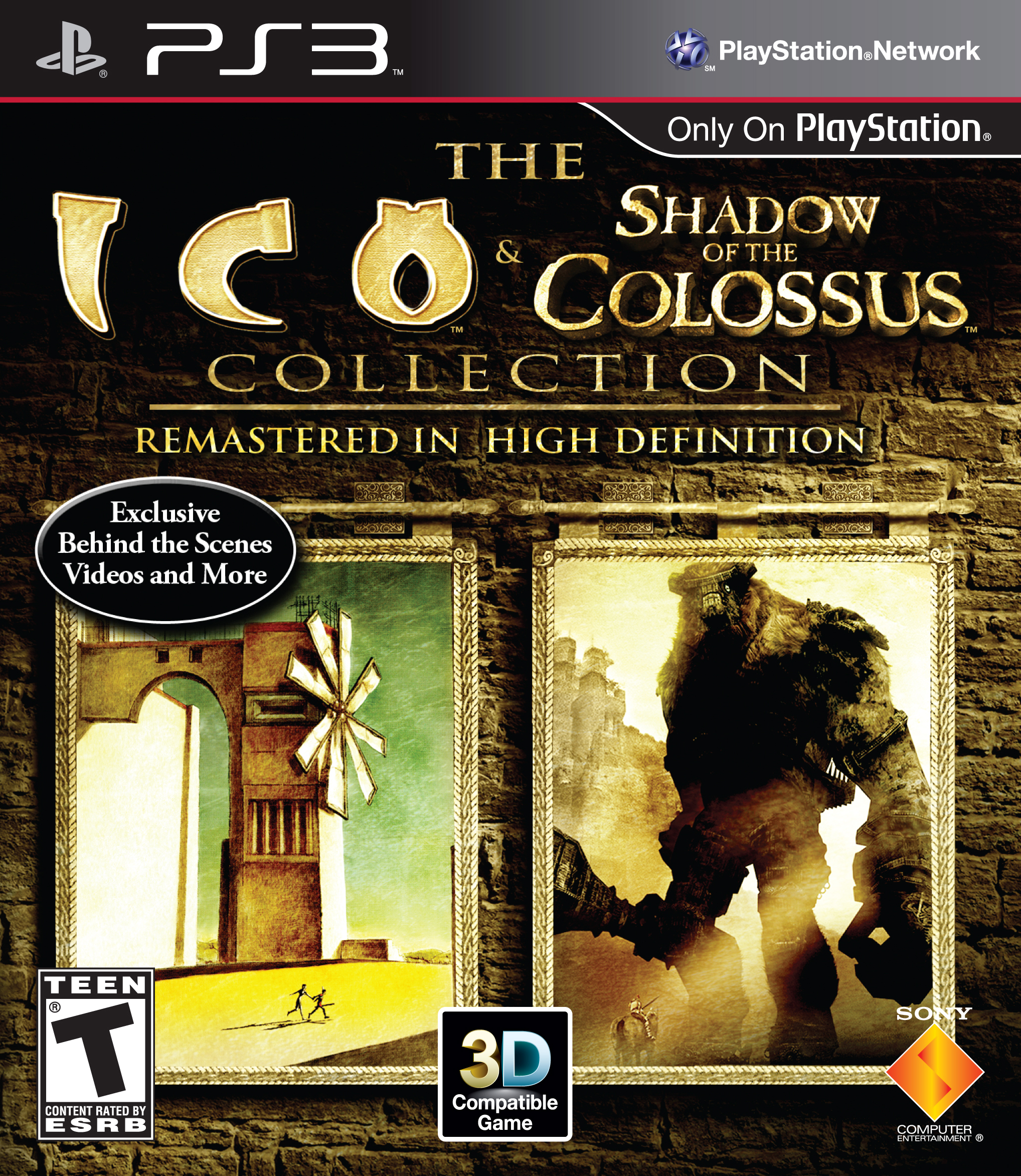 The ICO and Shadow of the Colossus Collection