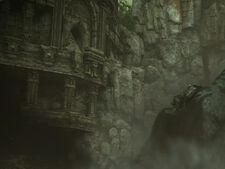 PS4 TGS temple scene