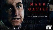 Taboo Mark Gatiss Cast Card