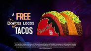 FREE Doritos® Locos Tacos April 28 (Commercial) Taco Bell