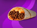 Cheesy Double Beef Burrito