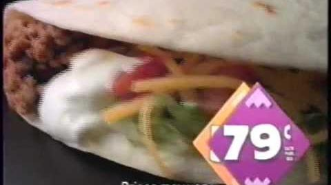 1991 Taco Bell Run For The Border Commercial