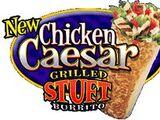 Chicken Caesar Grilled Stuft Burrito