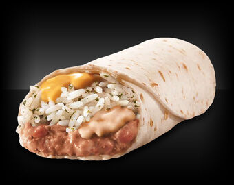 Cheesy Bean And Rice Burrito Taco Bell Wiki Fandom