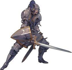 A Male Knight