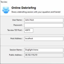 Online Debriefing