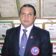 Gm. Jimmy R. Jagtiani, founder & father of Taekwondo of India .