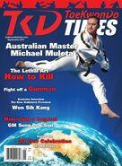 Taekwondo Times cover Muleta