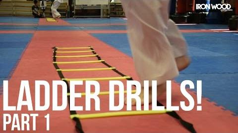 Creative Agility Ladder Drills! Pt. 1