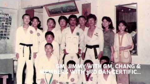 1ST INDIAN GRANDMASTER INDUCTEE IN TAEKWONDO HALL OF FAME, USA-2009. GM. JIMMY R. JAGTIANI,...-2