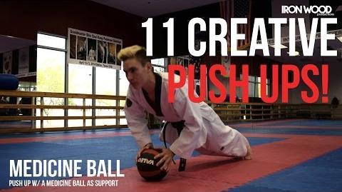 11 Creative Push Up Exercises
