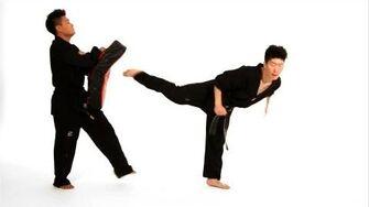 How_to_Do_Back_Kick_&_Jump_Back_Kick_Taekwondo_Training
