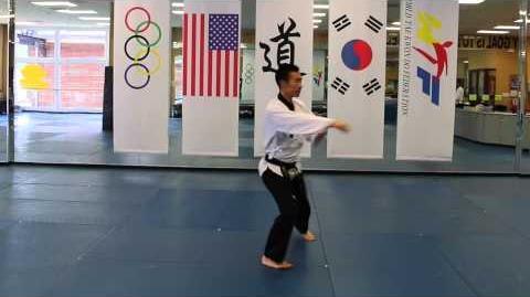 10gup White Belt Kibon Hana