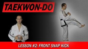 Taekwon-Do_Lesson_2_Front_Snap_Kick