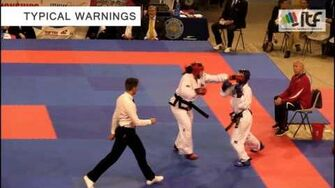 ITF_Taekwon-Do_introduction_sparring