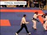 Taekwondo Free Sparring