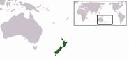 紐西蘭位置