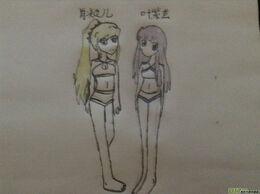 Girls fan art4