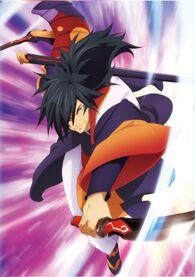 -vanity full- War Daemon Rokurou Poster