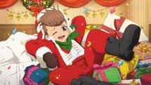 -mirrage full- Small Santa Claus