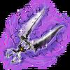-weapon full- Dark Shearsbow (Scissors)