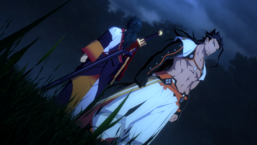 -weapon full- Head of the Rangetsu Family Shigure