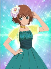 -weapon full- White Flower Hair Ornament Rita