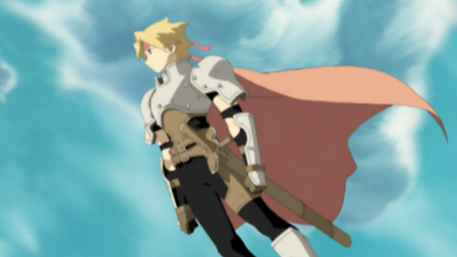 -weapon full- Space-time Swordsman Cress