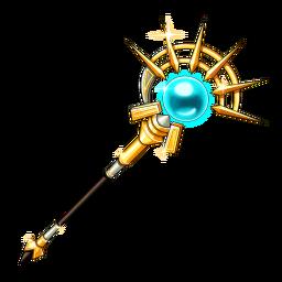 Blue Crystal Rod