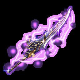 Dark Thunder Vortex Sword