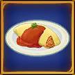 -recipe game- Omelette Rice
