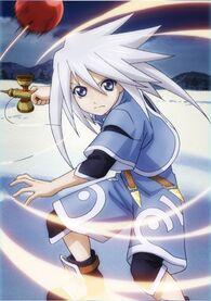 -vanity full- Kendama-Wielding Magician Genis Poster