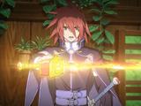 Handing Down the Sword of the Hero