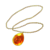 -weapon full- Amber Pendant