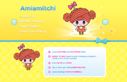 Ami tamagotchi friends profile