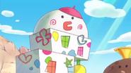 Challenge town art building anime