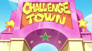 Challenge town entrance