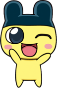 Mametchi anime winking
