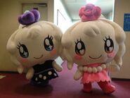 Miraitchi and Clulutchi - Mascots