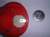 Batteries in a Tamagotchi