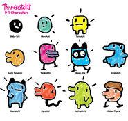 Tamagotchi-characters (2)