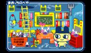 Mametchi's room