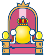 Gotchi king throne