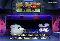 Tamagotchi reference in Robot Chicken.png