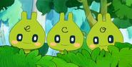 Eco-usatchi Triplets