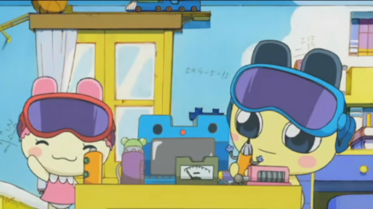 Mametchi's Surprising New Invention?!
