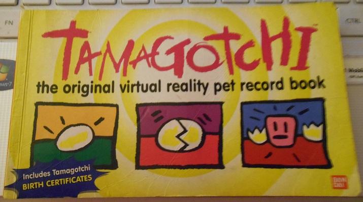 Tamagotchi: The Original Virtual Reality Pet Record Book
