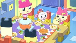 Mametchi family dinner.jpg